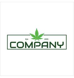 Seed and marijuana vector