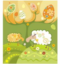 Sheep illustration vector