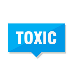 toxic price tag vector image