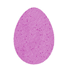 vintage color egg vector image