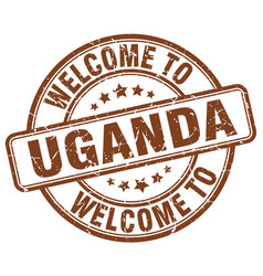 Welcome to uganda vector