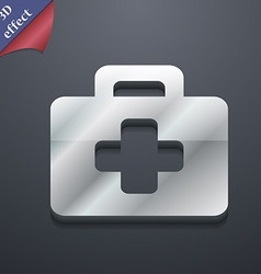 first aid kit icon symbol 3D style Trendy modern vector image vector image