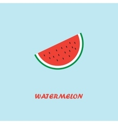 Watermelon Pocter vector image vector image