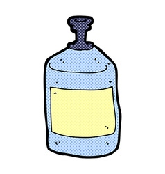 comic cartoon old squirt bottle vector image vector image