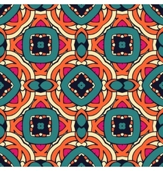 Abstract geometric Mosaics tiled background vector image