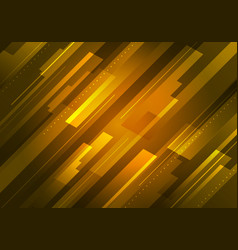 abstract technology futuristic concept yellow vector image