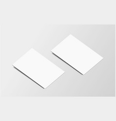 branding business card on grey vector image