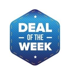 Deal week vector