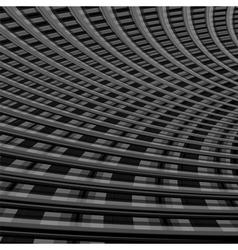 Design monochrome grid background vector