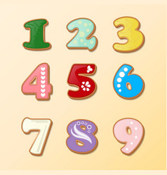 dial on a light background and numbers in the vector image