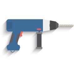 Drill Icon drill icon flat drill icon picture vector