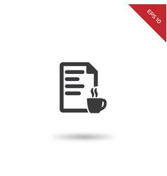 fresh content icon vector image
