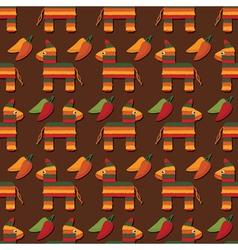 pinata pattern vector image