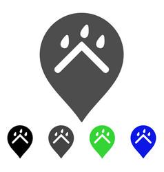 rain protection marker flat icon vector image