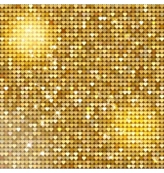 Seamless pattern background with gold glitter vector image