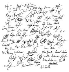 Signature set set of imaginary vector