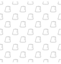 turkish hat pattern seamless vector image