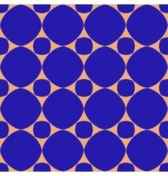 Polka dot geometric seamless pattern 2503 vector image vector image