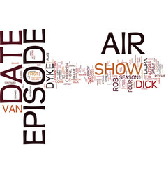 the dick van dyke show dvd review text background vector image