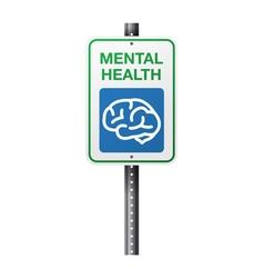 Mental health sign vector