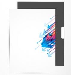 Letterhead design vector
