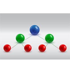 Balls infographic 5 vector