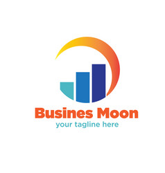 business management logo designs vector image