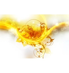 Fiery Background vector image