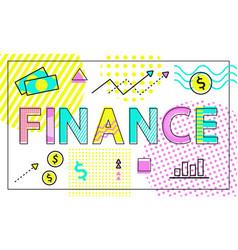 Finance business company vector