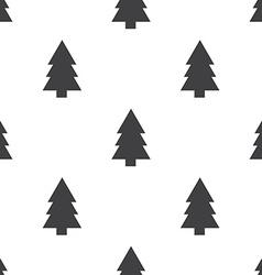 fir-tree seamless pattern vector image