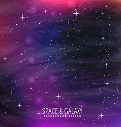 Galaxy background design vector