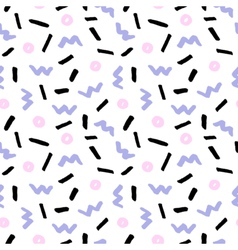 Hand Drawn Retro Seamless Pattern vector