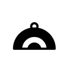 restaurant plate logo designs inspiration vector image