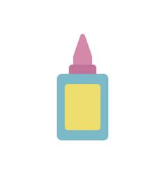 School glue flat style icon vector
