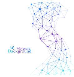 Scientific chemistry pattern structure molecule vector