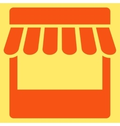 Store icon from Business Bicolor Set vector image