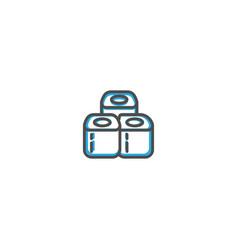 sushi icon design gastronomy icon vector image