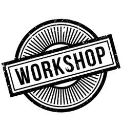 Workshop rubber stamp vector