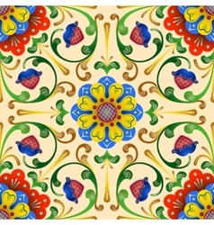 Folk seamless pattern1 vector image