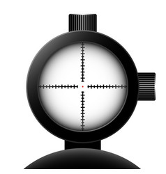 optical sight vector image vector image