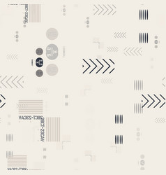 Abstract industrial seamless pattern vector