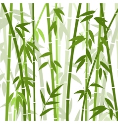 Chinese or japanese bamboo grass oriental vector