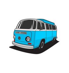 classic van vector image