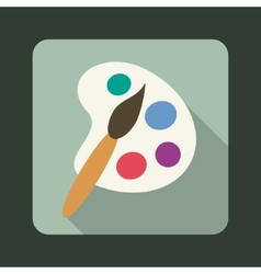 Palette icon vector image