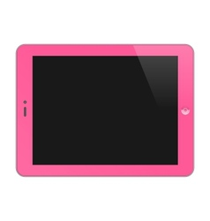 Realistic Concept Of Tablet PC Blank Screen vector