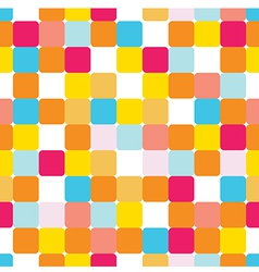 Seamless pattern with colorful bricks vector