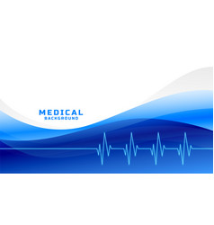 Stylish medial and healthcare background with vector