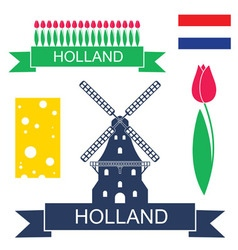 Holland vector image