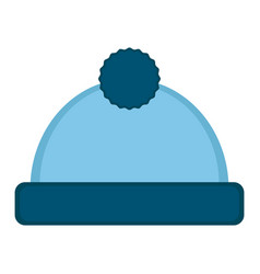 Isolated baby hat icon vector