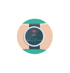 smartwatch icon sign symbol vector image